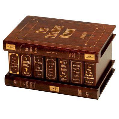 Treasure Within Secret Book Box Money Holder