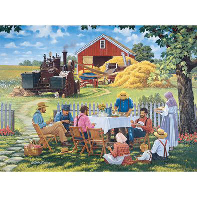 Our Daily Bread 1000 Piece Jigsaw Puzzle