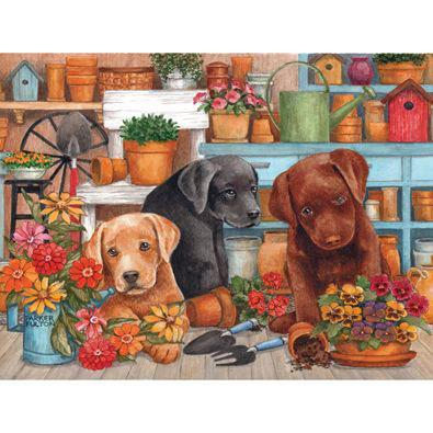 Triple Trouble 300 Large Piece Jigsaw Puzzle
