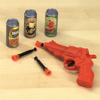 Desktop Cowboy Target Game