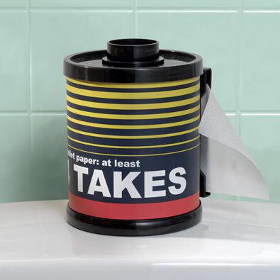 Film Canister Toilet Paper Holder