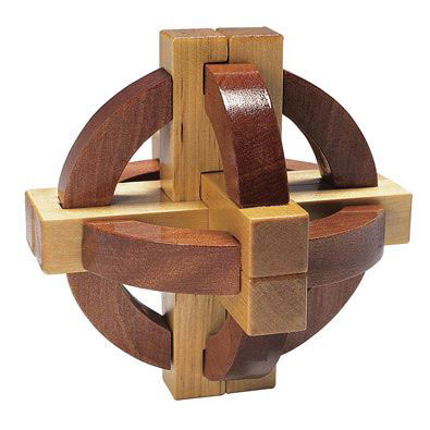 Satellite Wooden Puzzle