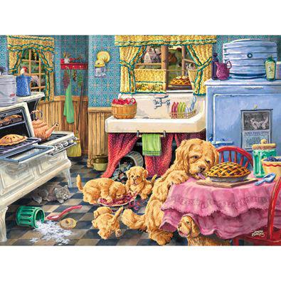 Dog Gone Good Pies 500 Piece Jigsaw Puzzle
