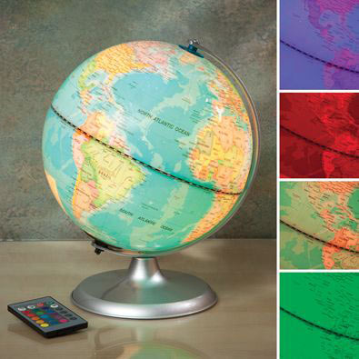 LED Color Changing Globe
