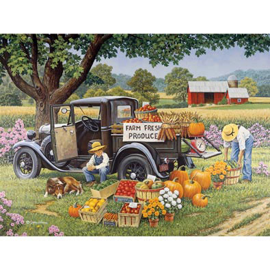 Home Grown 500 Piece Jigsaw Puzzle