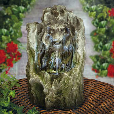 Lion Tabletop Fountain