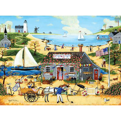 Dizzy Lizzy's Antiques 300 Large Piece Jigsaw Puzzle