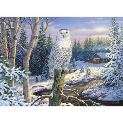 Whispering Ridge Snowy Owl 1500 Piece Jigsaw Puzzle