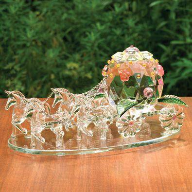 Fairytale Crystal Carriage