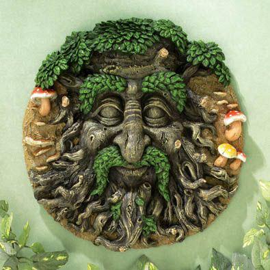 Green Man 3-D Wall Art