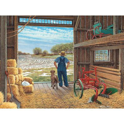Waiting for Spring 1000 Piece Jigsaw Puzzle