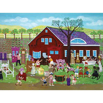 Yard Sale 500 Piece Jigsaw Puzzle