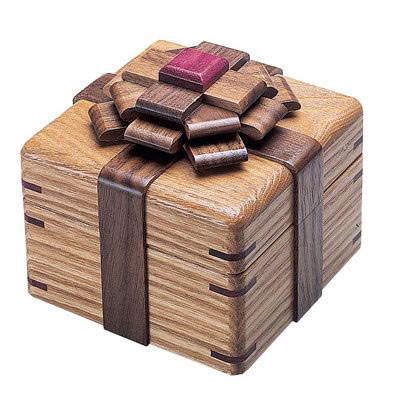 The Elegant Kamei Ribbon Puzzle Box