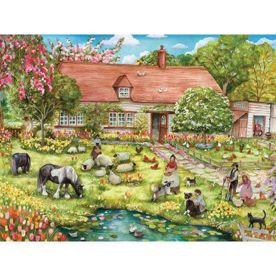 Spring Grazing 1000 Piece Jigsaw Puzzle