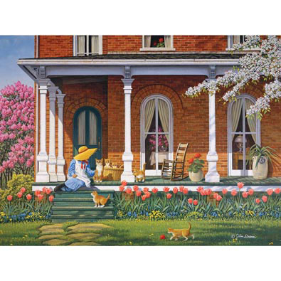 Mother's Day 300 Large Piece Jigsaw Puzzle