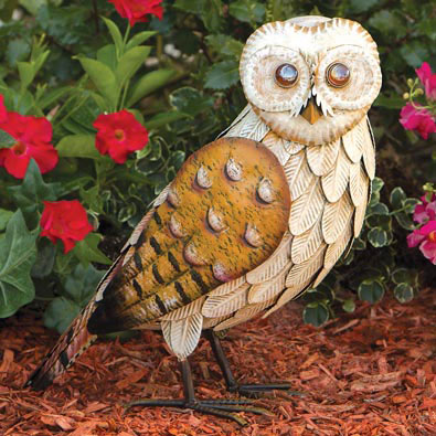 Wise Owl Sculpture