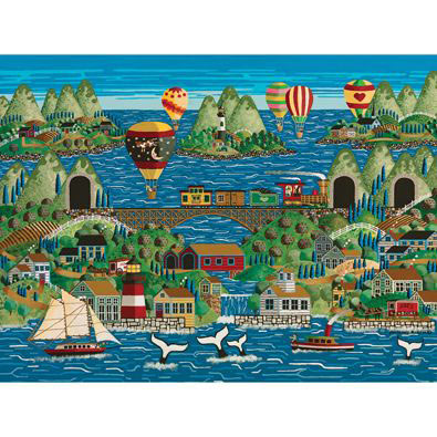Tales Of Whales 1000 Piece Jigsaw Puzzle