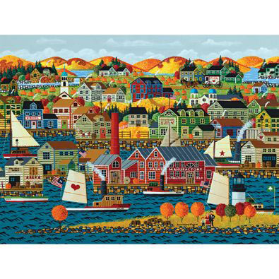 Fall On The Coast 1000 Piece Jigsaw Puzzle