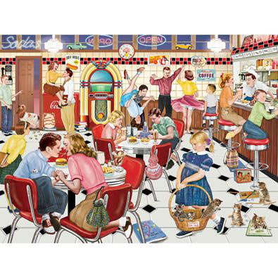 I'm Telling On You 300 Large Piece Jigsaw Puzzle