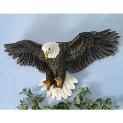Bald Eagle Wall Art Sculpture