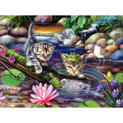 On A Fishing Mission 500 Piece Jigsaw Puzzle