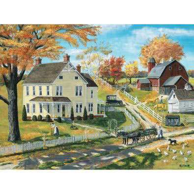 Milk Pickup 500 Piece Jigsaw Puzzle