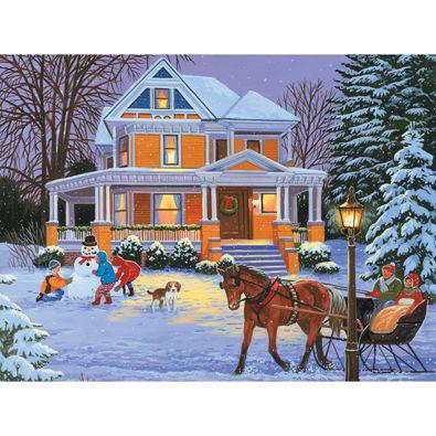 Winter Memories 500 Piece Jigsaw Puzzle