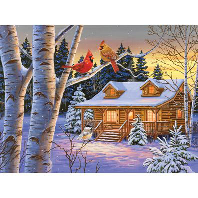 Rustic Retreat 500 Piece Jigsaw Puzzle