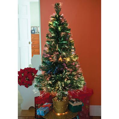 18 Inch Fiber-Optic Christmas Tree