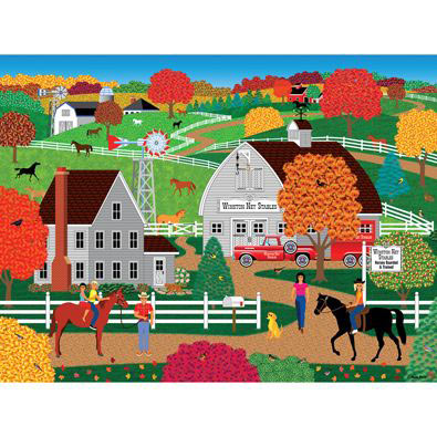 Horse Country 300 Large Piece Jigsaw Puzzle