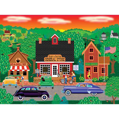 Morning In Maple Meadow 300 Large Piece Jigsaw Puzzle