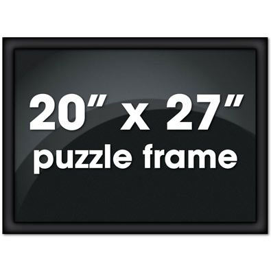 20 X 27 Black Frame Bits And Pieces