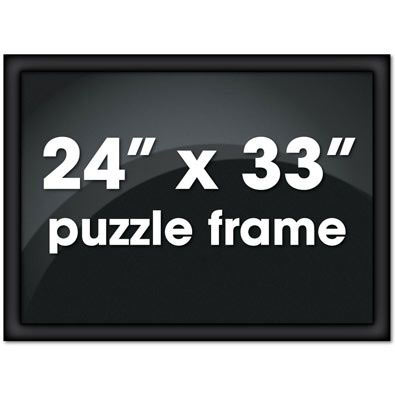24X33 Black Channel Frame