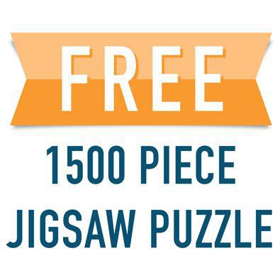 FREE 1500 Piece Jigsaw