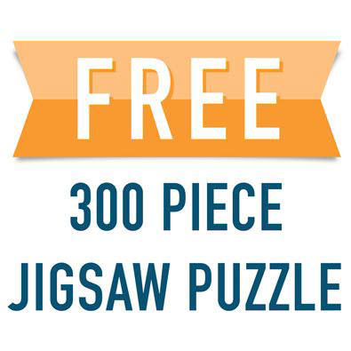 FREE 300 Large Piece Jigsaw Puzzle