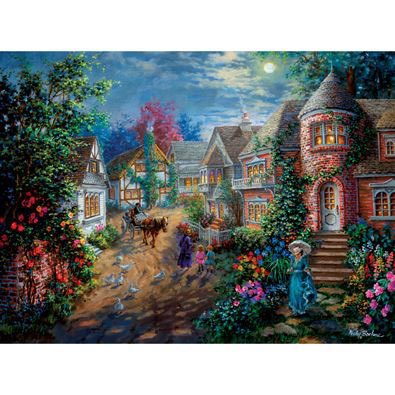 Moonlight Splendor 500 Piece Jigsaw Puzzle