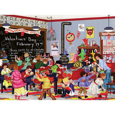 Valentine's Day 1000 Piece Jigsaw Puzzle