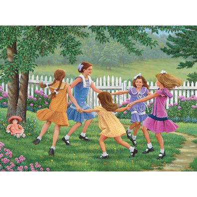 Ring Around The Rosie 1000 Piece Jigsaw Puzzle