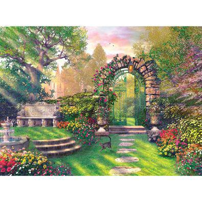 The Garden Gates 500 Piece Jigsaw Puzzle