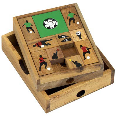 Soccer Sliding Wooden Puzzle