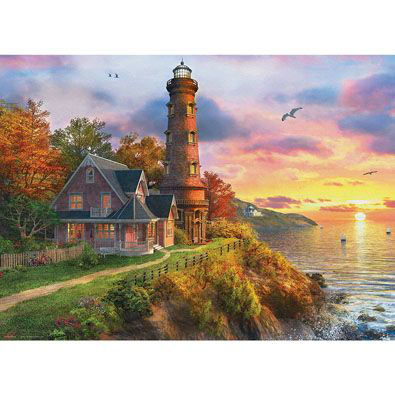 The Old Lighthouse 1000 Piece Jigsaw Puzzle