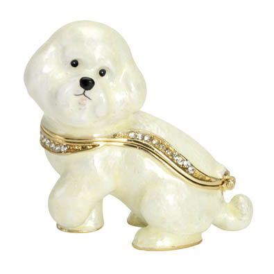 Best Friend Trinket Box: Bichon