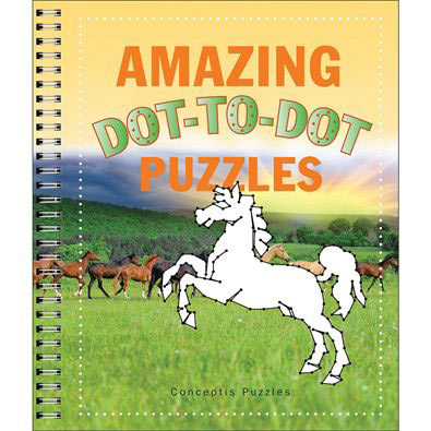 Amazing Dot To Dot Puzzles Book