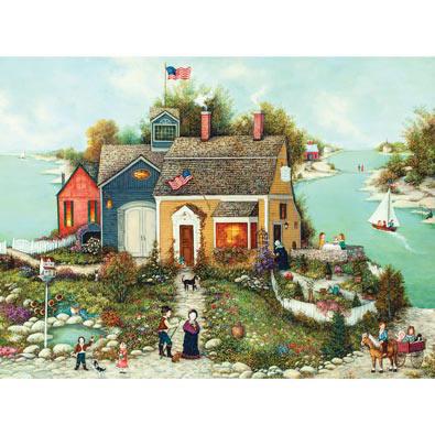 Cove Scene 1000 Piece Jigsaw Puzzle