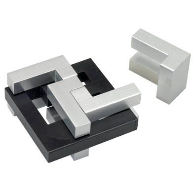 Elusive Wanzi Aluminum Brainteaser Puzzle