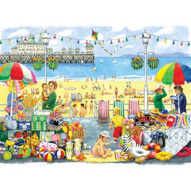 Alphabet Seaside 300 Large Piece Jigsaw Puzzle