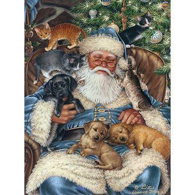 Santa's Nap 1000 Piece Jigsaw Puzzle