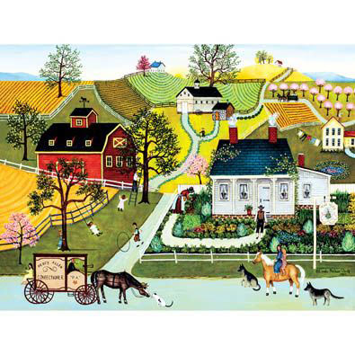 Herb Cottage 300 Large Piece Jigsaw Puzzle