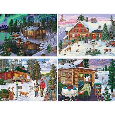 Set of 4: Joseph Burgess 1000 Piece Jigsaw Puzzles