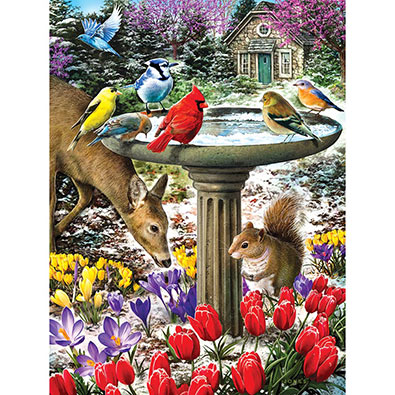 Winter Thaw 500 Piece Jigsaw Puzzle